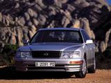 Lexus LS 400 (UCF20) 1995–97 images