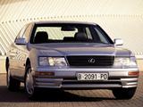 Lexus LS 400 EU-spec (UCF20) 1995–97 images