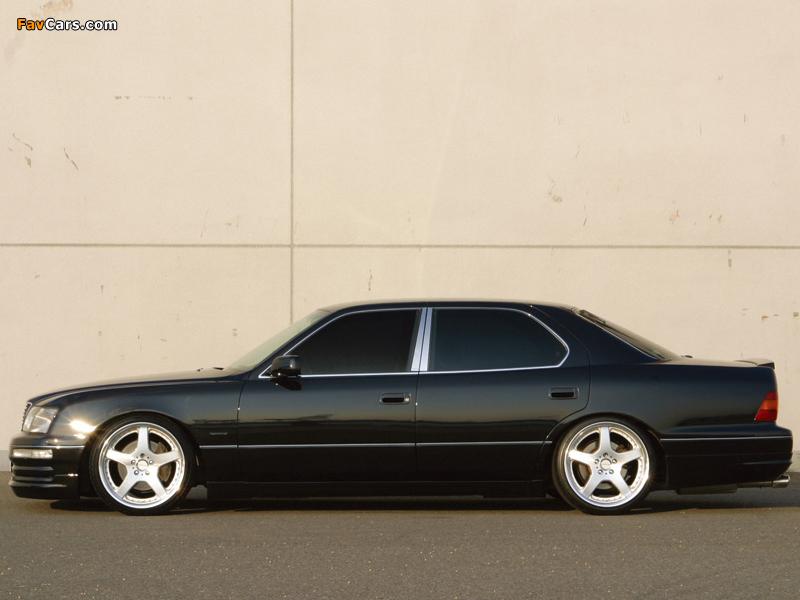 WALD Lexus LS 400 (UCF20) 1995–97 pictures (800 x 600)