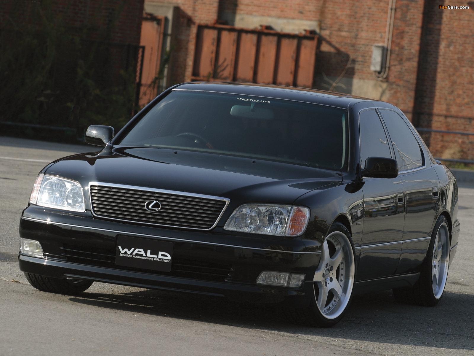 WALD Lexus LS 400 (UCF20) 1997–2000 photos (1600 x 1200)