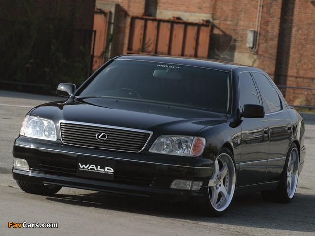 WALD Lexus LS 400 (UCF20) 1997–2000 photos (640 x 480)