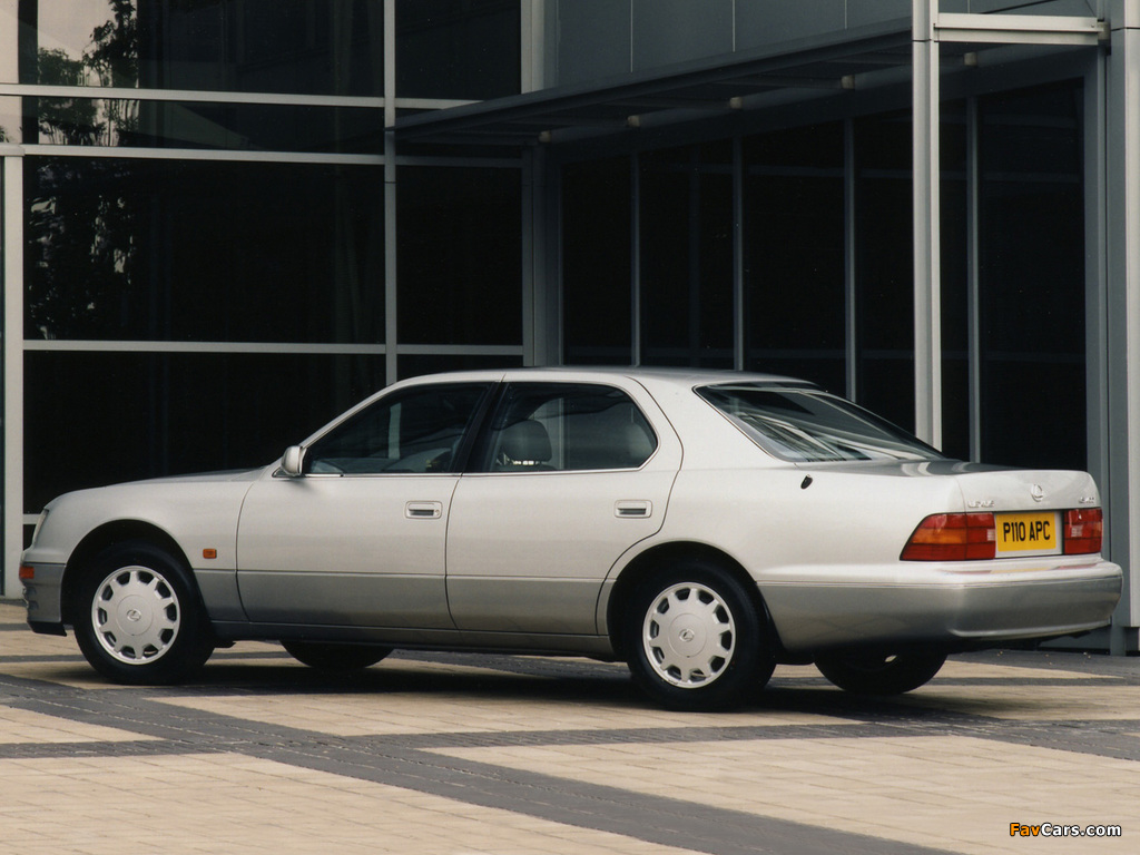 Lexus LS 400 UK-spec (UCF20) 1997–2000 photos (1024 x 768)