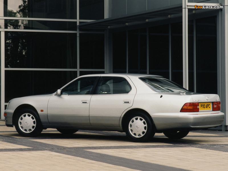 Lexus LS 400 UK-spec (UCF20) 1997–2000 photos (800 x 600)