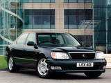 Lexus LS 400 UK-spec (UCF20) 1997–2000 photos