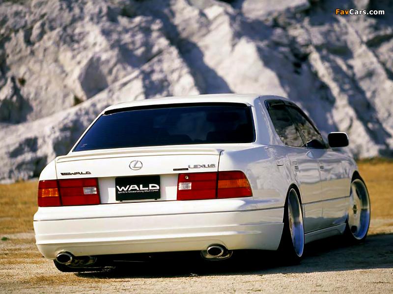 WALD Lexus LS 400 (UCF20) 1997–2000 pictures (800 x 600)