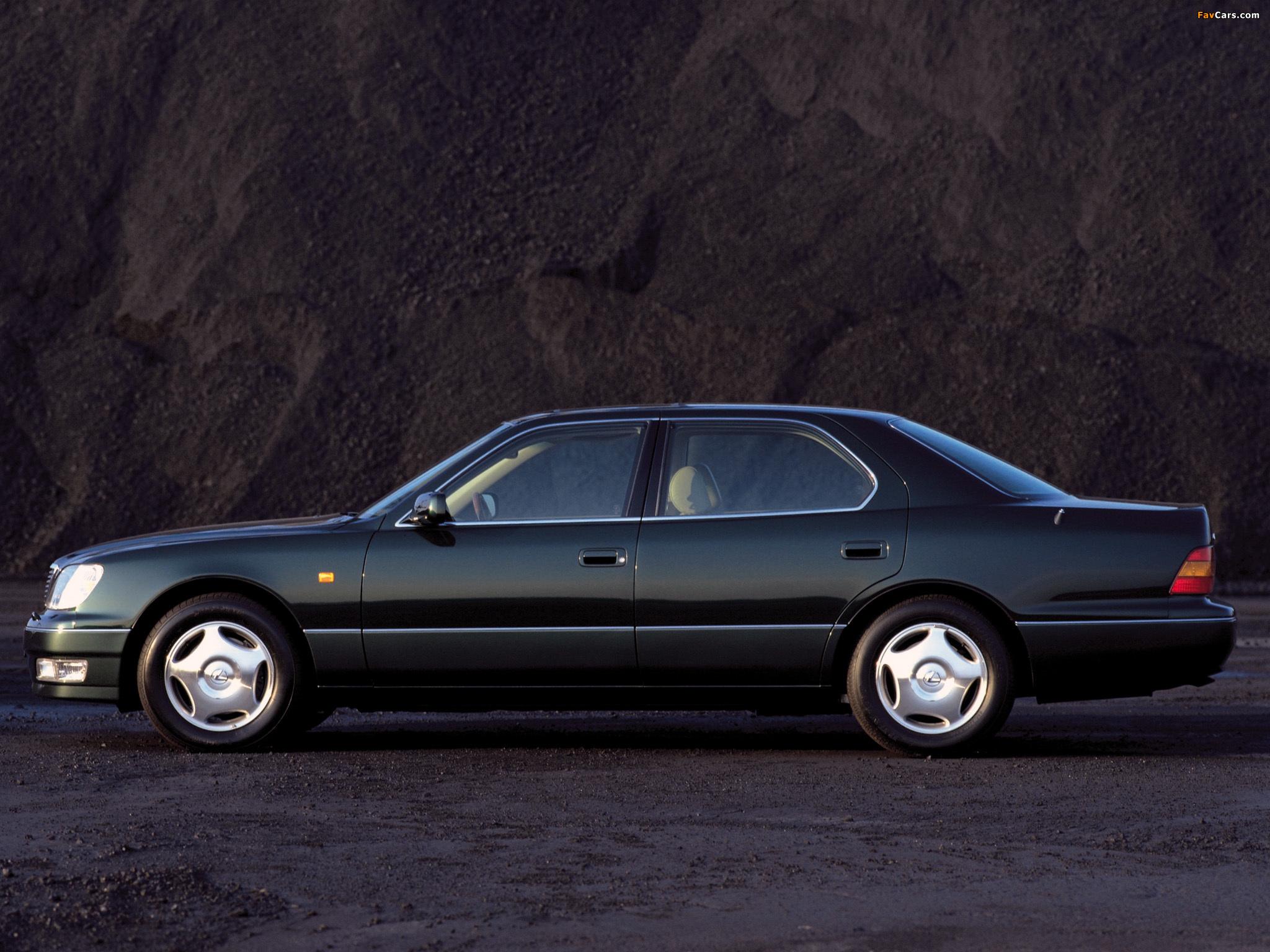 Lexus LS 400 EU-spec (UCF20) 1997–2000 wallpapers (2048 x 1536)