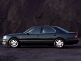 Lexus LS 400 EU-spec (UCF20) 1997–2000 wallpapers