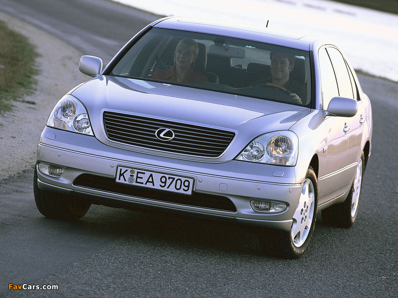 Lexus LS 430 EU-spec (UCF30) 2000–03 images (800 x 600)
