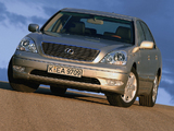 Lexus LS 430 EU-spec (UCF30) 2000–03 images