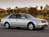 Lexus LS 430 AU-spec (UCF30) 2000–03 photos