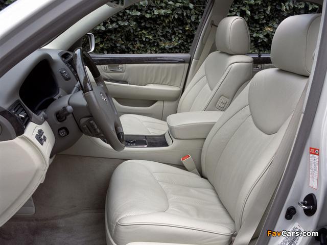 Lexus LS 430 (UCF30) 2000–03 photos (640 x 480)