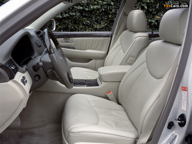 Lexus LS 430 (UCF30) 2000–03 photos (800 x 600)