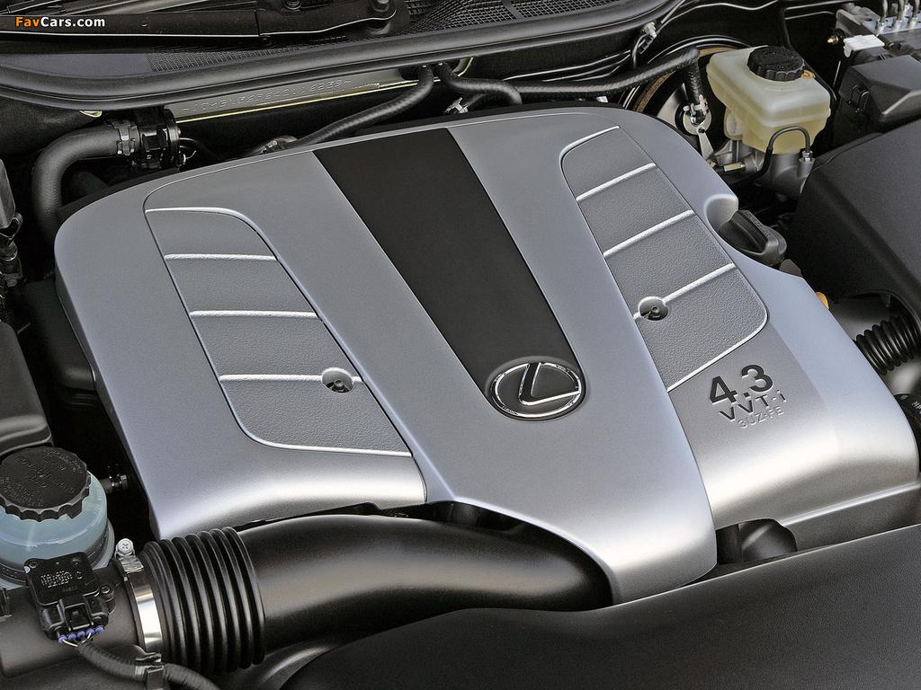 Lexus LS 430 EU-spec (UCF30) 2000–03 photos (1024 x 768)