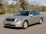 Lexus LS 430 AU-spec (UCF30) 2000–03 pictures
