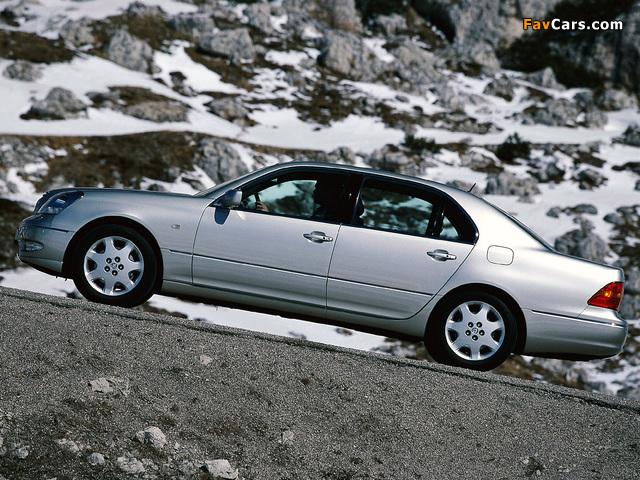 Lexus LS 430 EU-spec (UCF30) 2000–03 pictures (640 x 480)