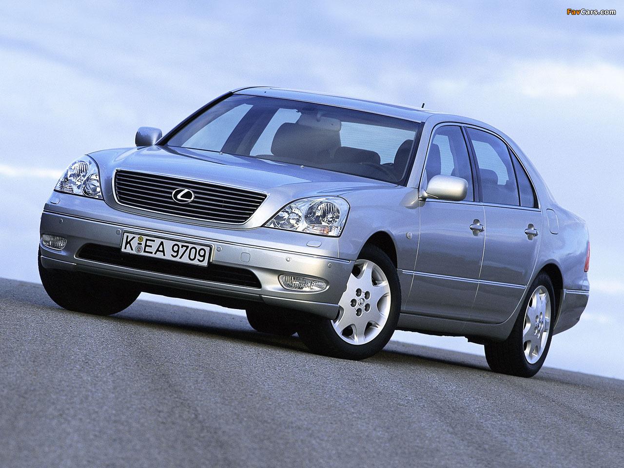 Lexus LS 430 EU-spec (UCF30) 2000–03 wallpapers (1280 x 960)