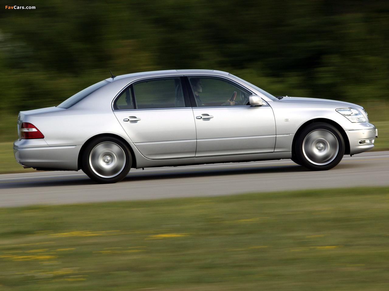 Lexus LS 430 (UCF30) 2003–06 images (1280 x 960)