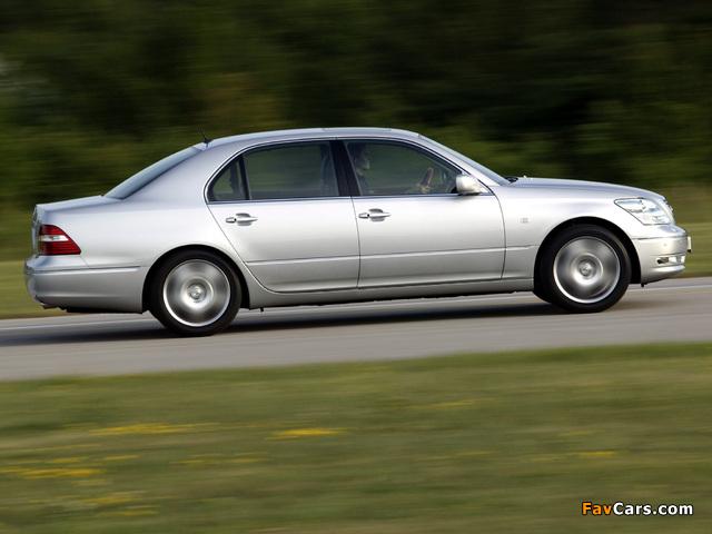 Lexus LS 430 (UCF30) 2003–06 images (640 x 480)