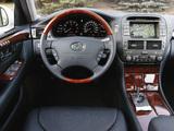 Lexus LS 430 (UCF30) 2003–06 images