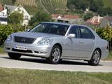 Lexus LS 430 EU-spec (UCF30) 2003–06 images