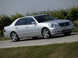 Lexus LS 430 EU-spec (UCF30) 2003–06 photos