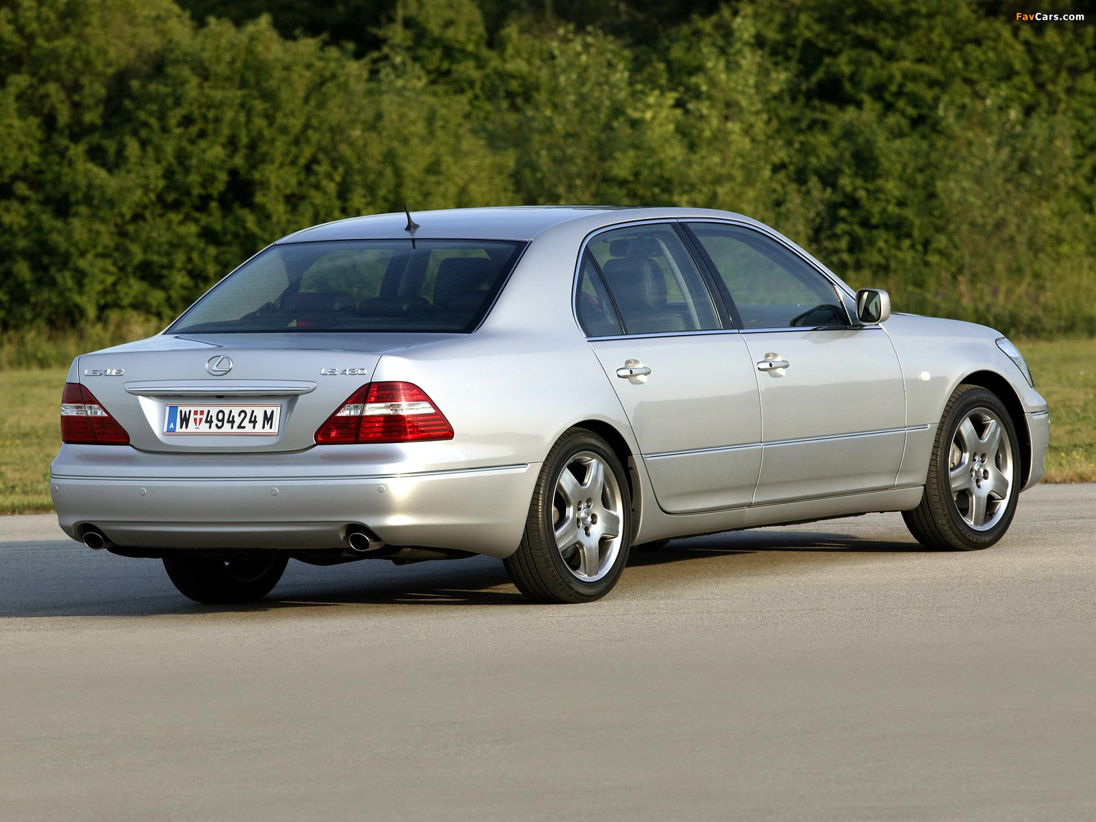 Lexus LS 430 EU-spec (UCF30) 2003–06 photos (1600 x 1200)