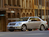 Lexus LS 430 AU-spec (UCF30) 2003–06 photos