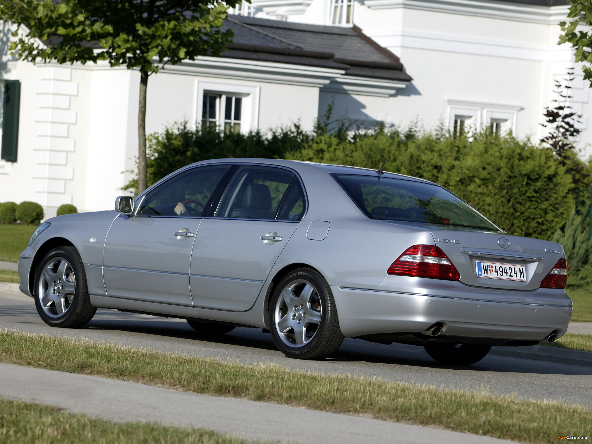 Lexus LS 430 (UCF30) 2003–06 pictures (2048 x 1536)