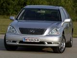 Lexus LS 430 EU-spec (UCF30) 2003–06 pictures