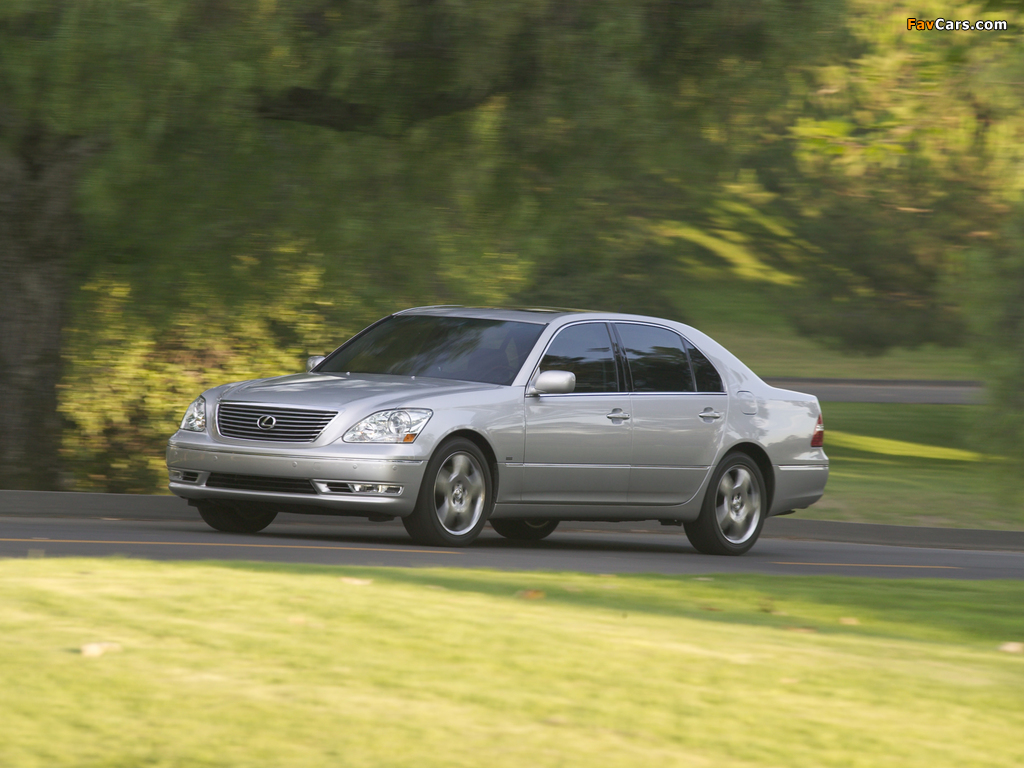 Lexus LS 430 (UCF30) 2003–06 pictures (1024 x 768)