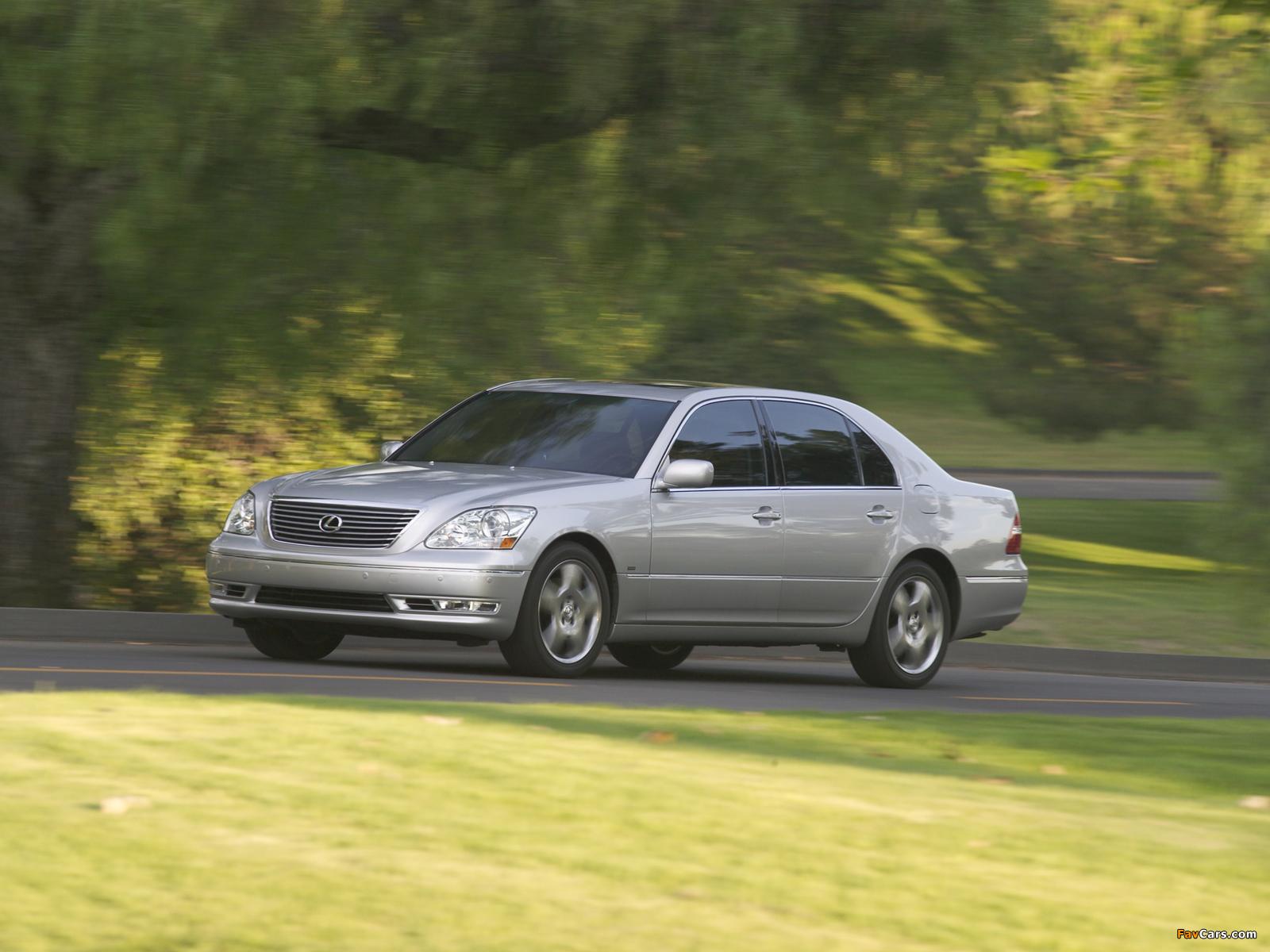 Lexus LS 430 (UCF30) 2003–06 pictures (1600 x 1200)