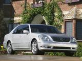 Lexus LS 430 (UCF30) 2003–06 pictures