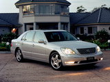 Lexus LS 430 AU-spec (UCF30) 2003–06 wallpapers