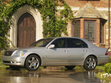 Lexus LS 430 (UCF30) 2003–06 wallpapers