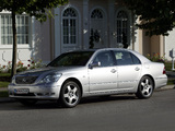 Lexus LS 430 EU-spec (UCF30) 2003–06 wallpapers