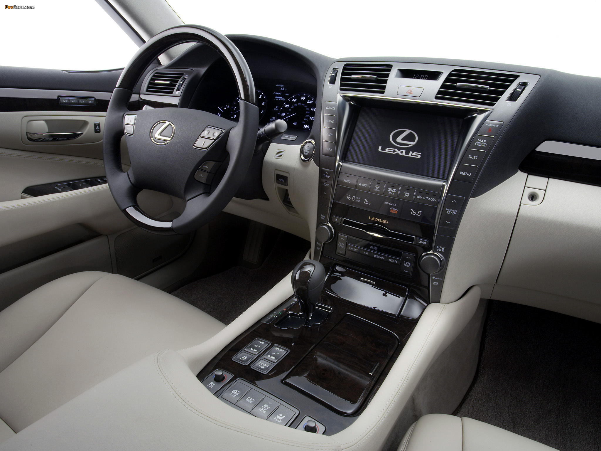 Lexus LS 460 (USF40) 2006–09 images (2048 x 1536)