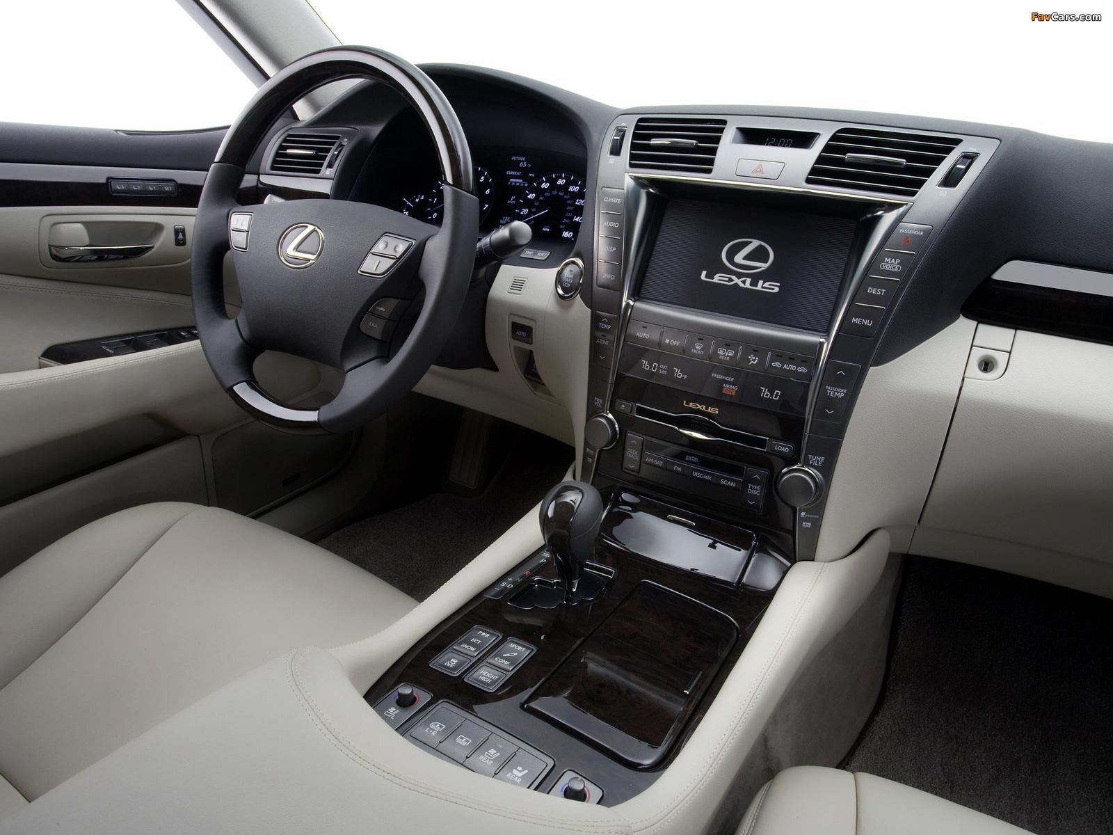 Lexus LS 460 (USF40) 2006–09 images (1600 x 1200)