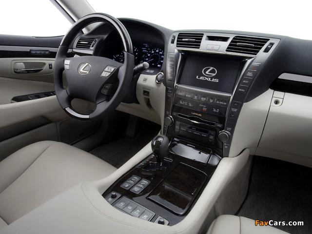 Lexus LS 460 (USF40) 2006–09 images (640 x 480)