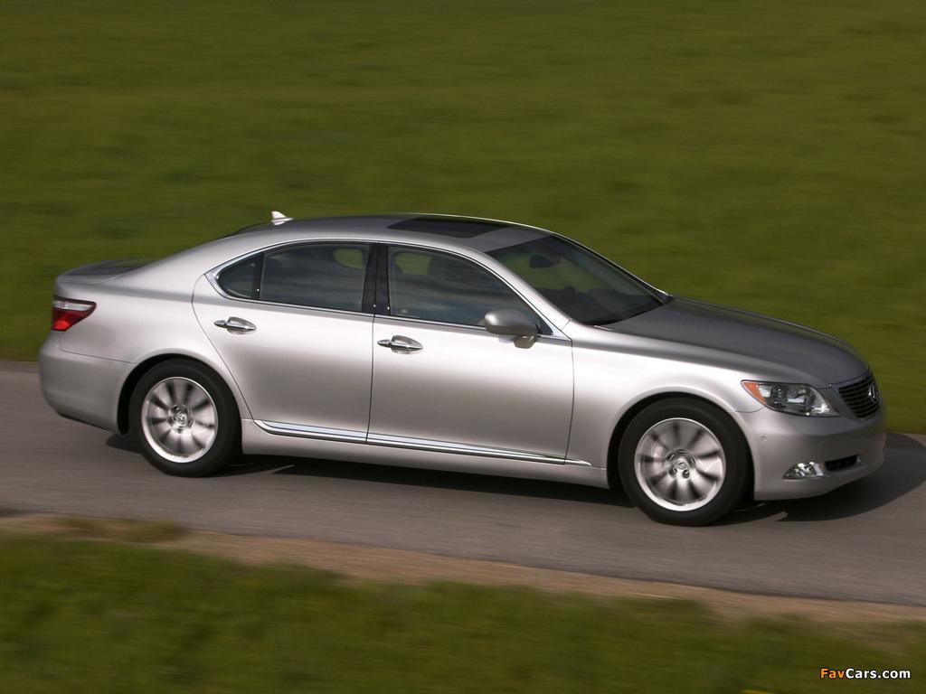 Lexus LS 460 (USF40) 2006–09 images (1024 x 768)