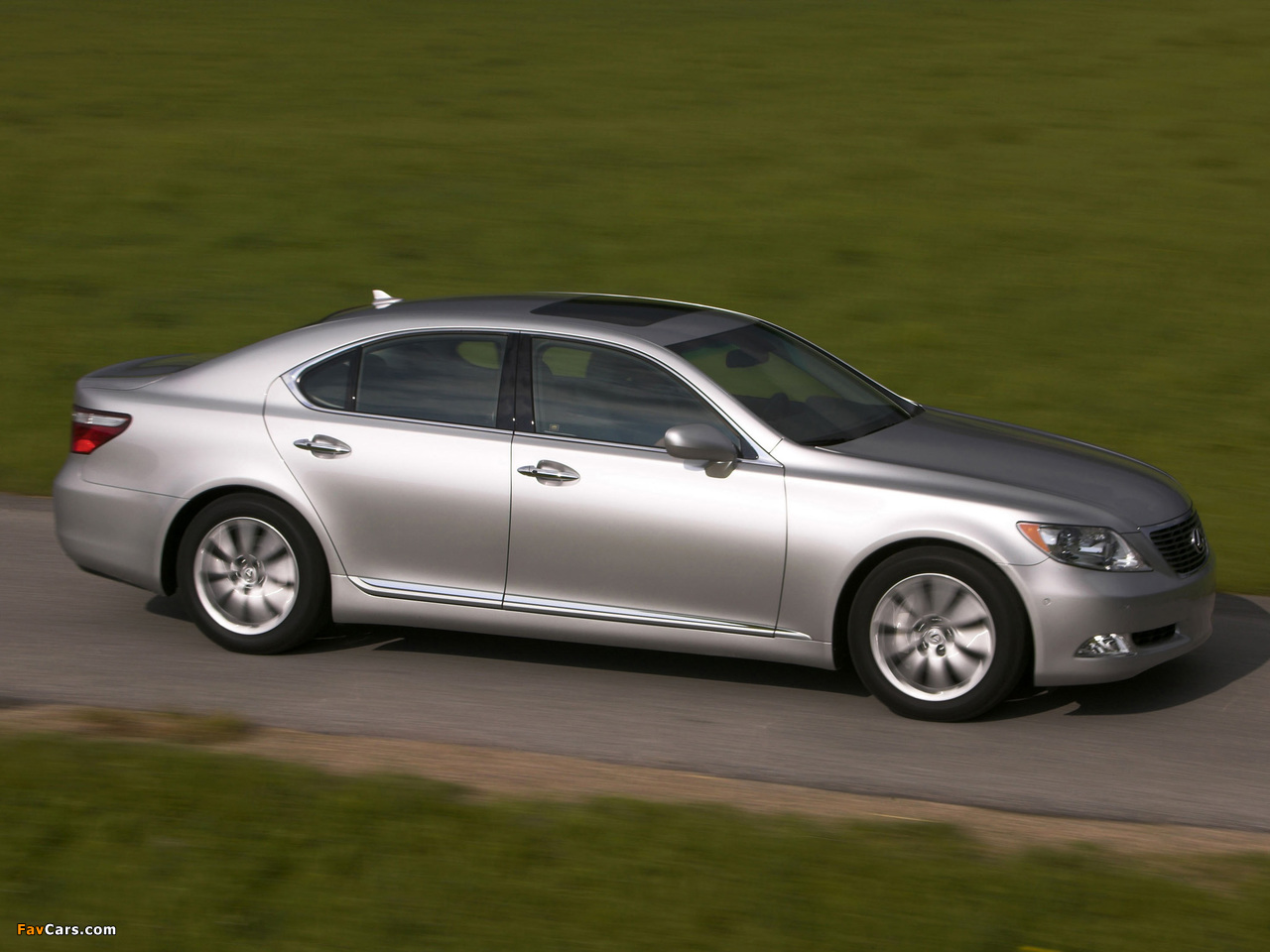 Lexus LS 460 (USF40) 2006–09 images (1280 x 960)
