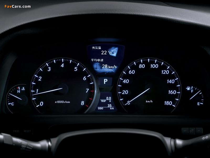 Lexus LS 460 JP-spec (USF40) 2006–08 photos (800 x 600)