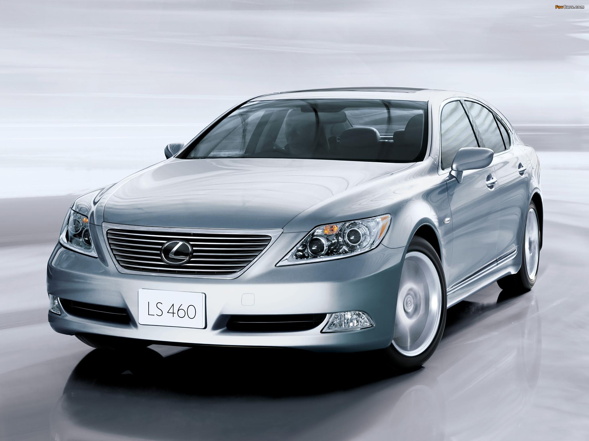 Lexus LS 460 JP-spec (USF40) 2006–08 photos (2048 x 1536)