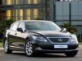 Lexus LS 460 ZA-spec (USF40) 2006–09 photos