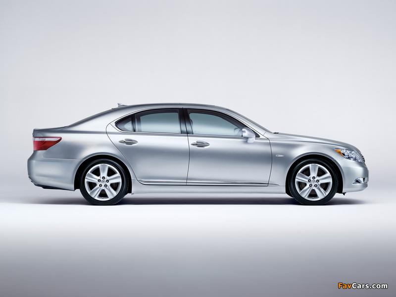 Lexus LS 460 JP-spec (USF40) 2006–08 pictures (800 x 600)