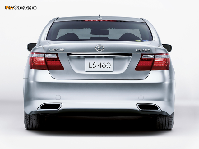 Lexus LS 460 JP-spec (USF40) 2006–08 pictures (640 x 480)