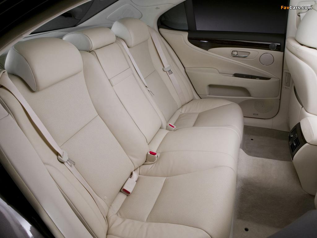 Lexus LS 460 (USF40) 2006–09 pictures (1024 x 768)