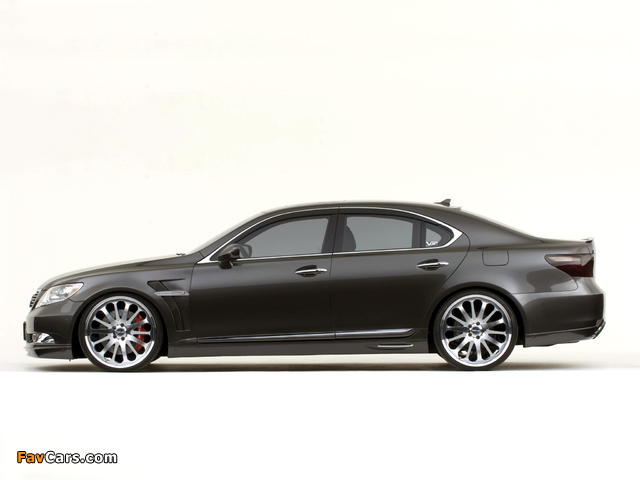WALD Lexus LS 460 VIP (USF40) 2007 images (640 x 480)