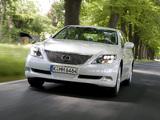 Lexus LS 600h EU-spec (UVF45) 2007–09 images