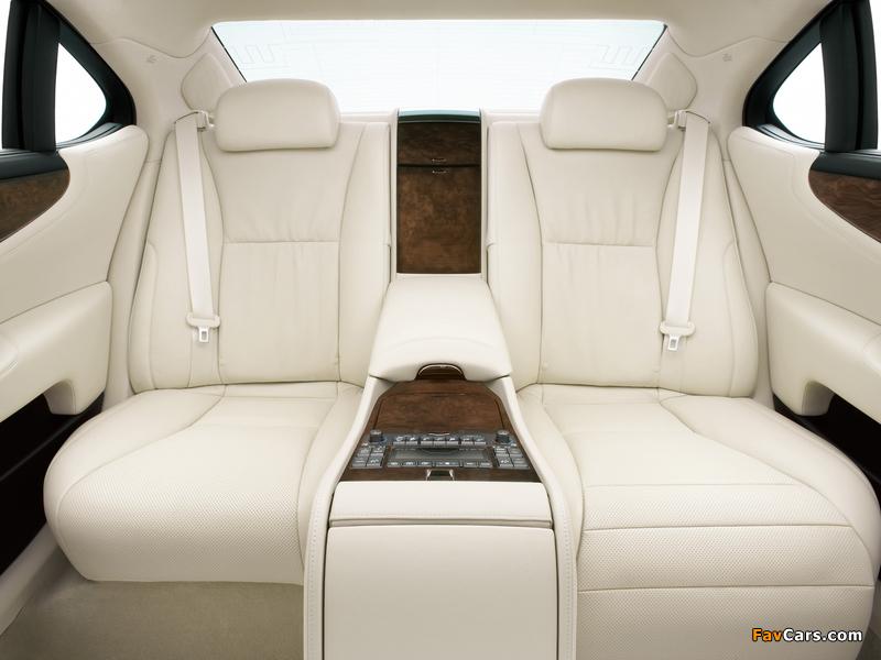 Lexus LS 600h L JP-spec (UVF45) 2007–09 photos (800 x 600)