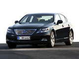 Lexus LS 600h EU-spec (UVF45) 2007–09 photos